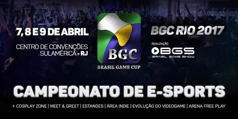 brasil game cup 1 - Estaremos Na Brasil Game Cup 2017!