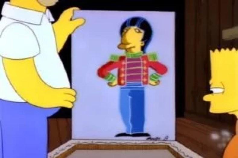 """Ringo e Homer 300x199 - Os Simpsons de """"A"""" À """"Z"""": Paródias De Filmes, Personalidades Famosas, Personagens E Curiosidades (Parte 6)"""