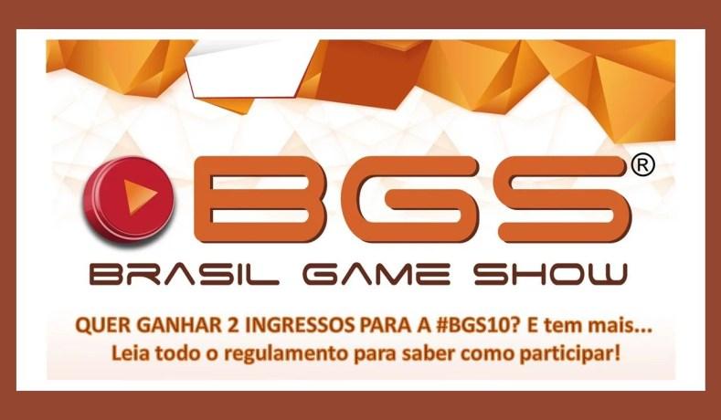 Sorteios: Ingressos BGS10 + Livro Do Evento!