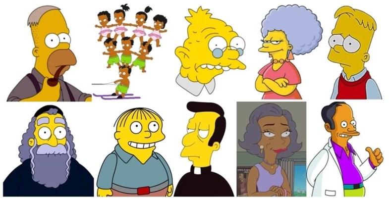 """personagens 6 - Os Simpsons de """"A"""" À """"Z"""": Paródias De Filmes, Personalidades Famosas, Personagens E Curiosidades (Parte 6)"""