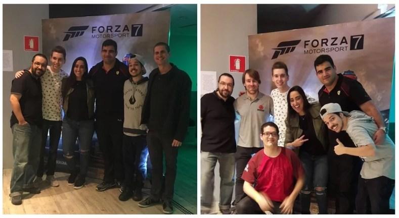 willen nelson nos - Lançamento De Forza Motorsport 7 Em São Paulo