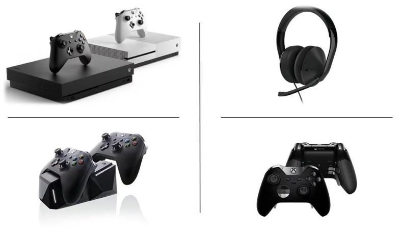 xbox one e acessorios principais - Xbox One, Jogos E Acessórios Na Black Friday