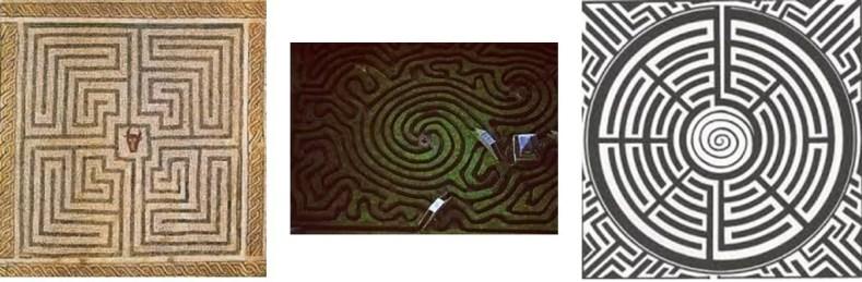 tipos de labirinto - Você Sabe Qual É A Origem Dos Labirintos?
