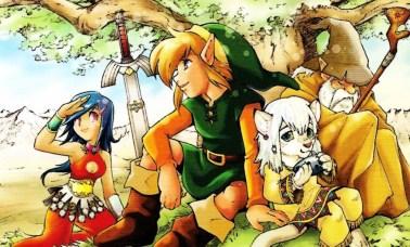 zelda manga - Mangás De Legend Of Zelda Em Português