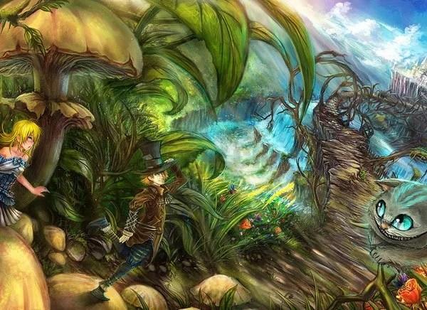 Alice No País Das Maravilhas Em Quadrinhos – Uma Viagem Alucinante E Fantástica!