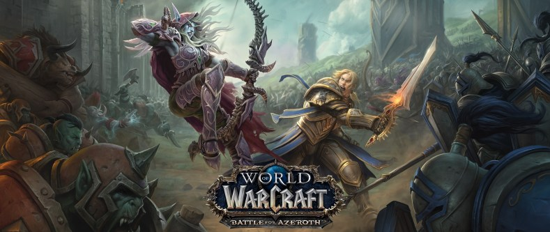 battle for azeroth - O Que Esperar De World Of Warcraft Em 2018?