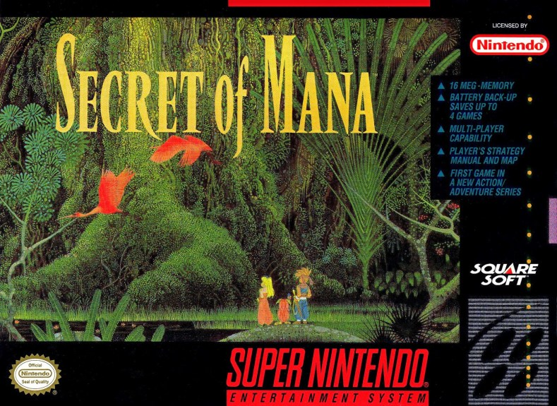 secret of mana snes - Secret Of Mana Remake: O Retorno Do Clássico