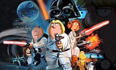 """family guy star wars - Uma Família Da Pesada De """"A"""" À """"Z"""" (Parte Final): Paródias, Personagens, Star Wars E Curiosidades"""