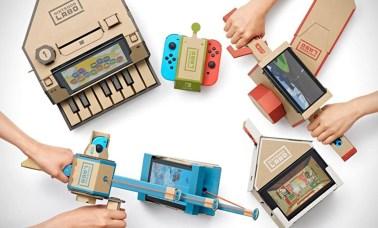nintendo labo capa - Nintendo Labo E Os Kits Variedade E Robô