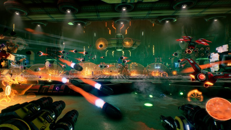 Mothergunship Launch Screenshot 011 - Mothergunship - Um Inferno De Balas