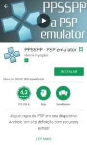 PPSSPP tela 180x300 - Os Emuladores Mais Interessantes Para Android