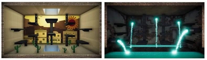 cenarios parte01 - Conheça BlockWars, O Mais Recente Indie Brasileiro No Catálogo Do Xbox One