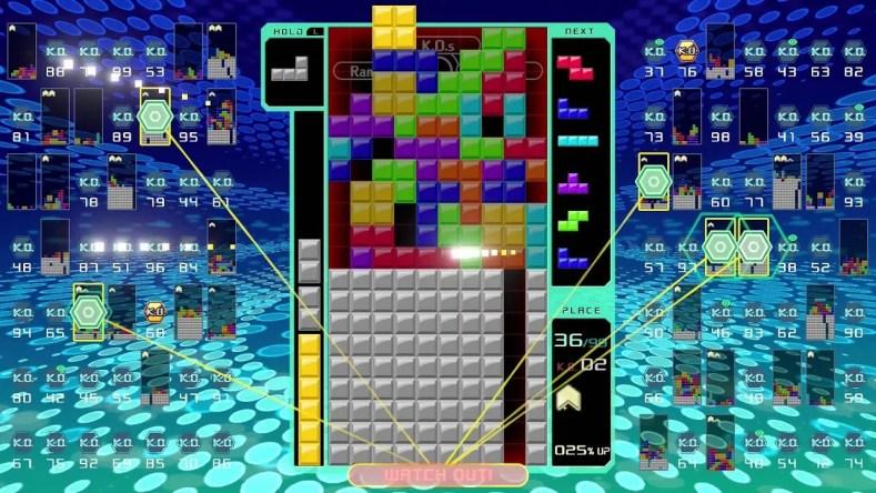 Tetris 99 Figura 3 - A Onda Battle Royale Em Tetris 99