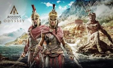 Assassins Creed Odyssey Alexios e Kassandra - A Odisseia dos Assassinos