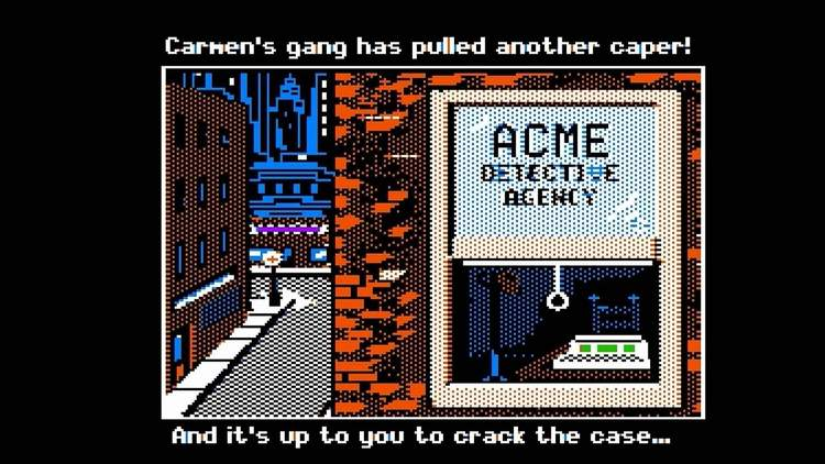 CSD ACME - Onde Está Carmen Sandiego?