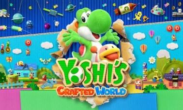 Yoshis Crafted World Capa - O Maravilhoso Mundo de Yoshi
