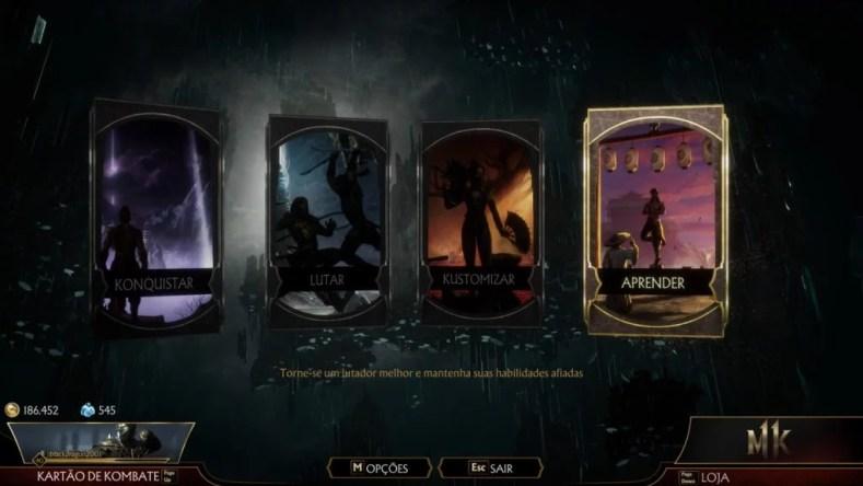 tela entrada 1024x576 - Mortal Kombat 11: Análise