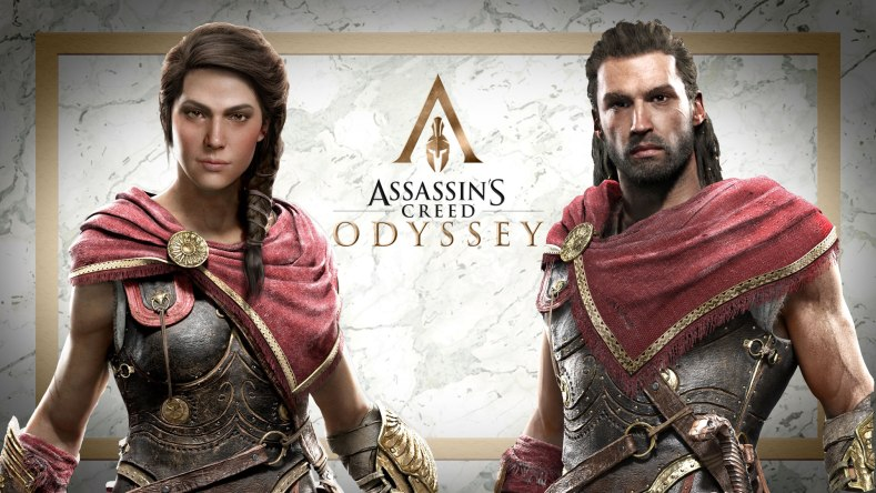 AC Odyssey Personagens - A Odisseia dos Assassinos