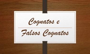 Capa 2 - Você sabe o que são Cognatos e Falsos Cognatos?