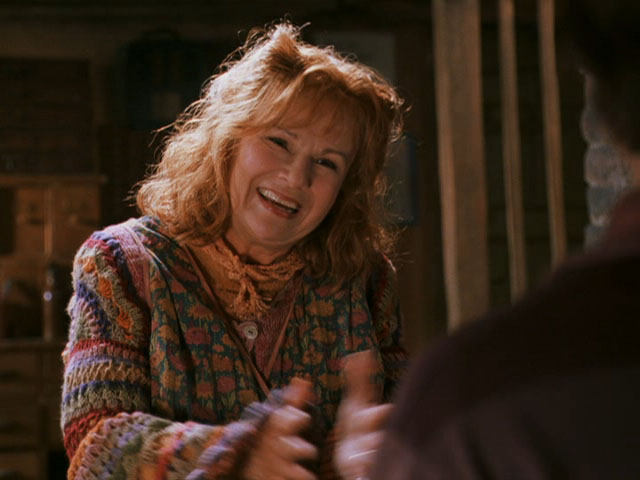 Molly Weasley - Mães do Cinema e das Animações