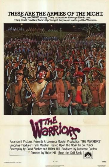 capinha - Tela Klassik: Warriors - Selvagens da Noite