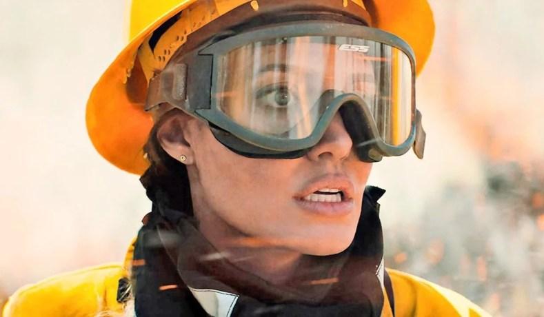 Aqueles Que Me Desejam A Morte Traz Muita Adrenalina e Tensão Com Angelina Jolie