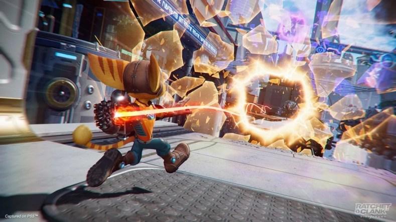 Ratchet Clanck Rift Apart Imagem 2 - Ratchet & Clank: Rift Apart É Muito Divertido E Obrigatório Para Os Donos De Um PlayStation 5