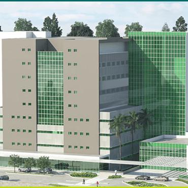 Acompanhe a evolução da obra de ampliação do Hospital Unimed