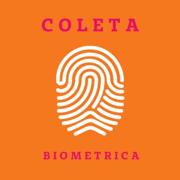 Lembre como realizar a coleta biometrica para cadastro