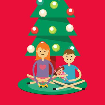 Cartões para desejar Boas Festas para seus amigos!