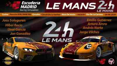Lemans 24h Escuderia Madrid