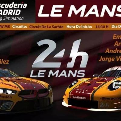 Lemans 24h Escuderia Madrid