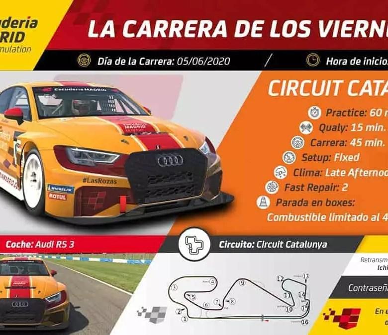 carrera de los viernes escuderia madrid