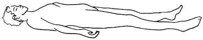 Savásana - Postura de relajación