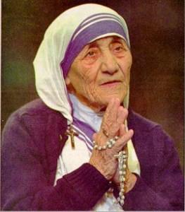 Madre Teresa de Calcuta, ejemplo de Karma Yoga