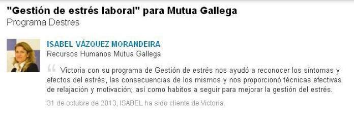 Isabel Vazquez Morandeira - Mutua Gallega