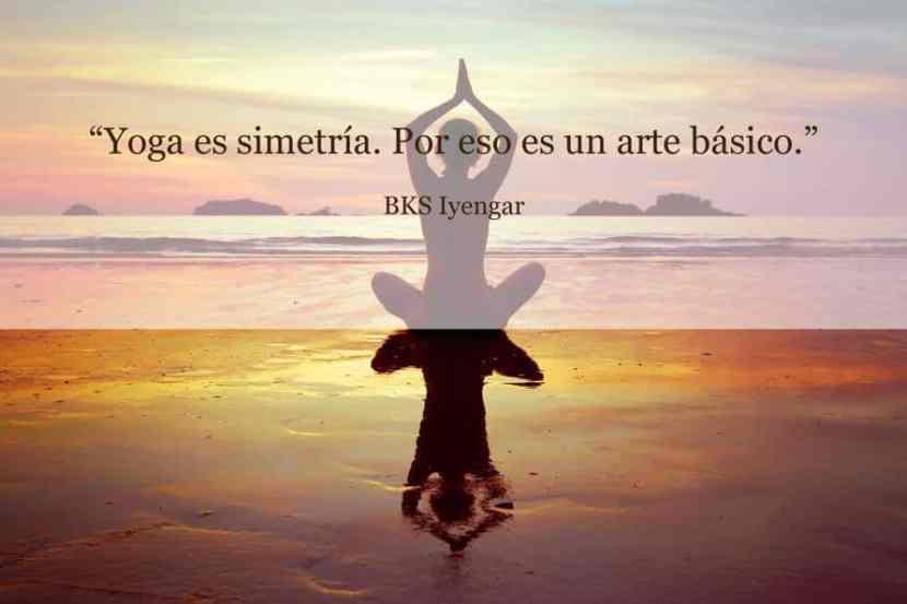 yoga es simetría