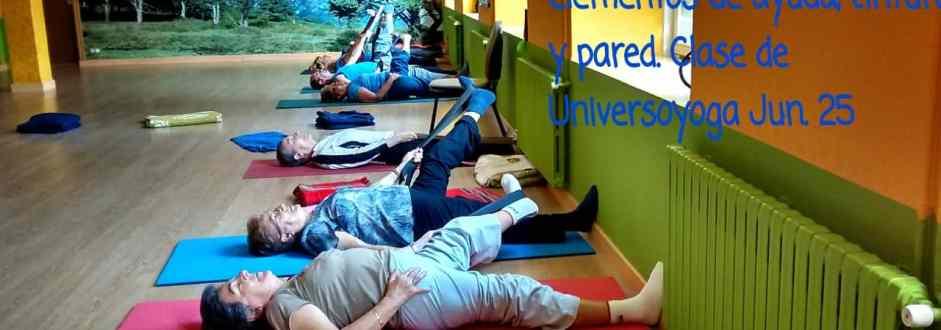 Algunas fotos de clases de yoga