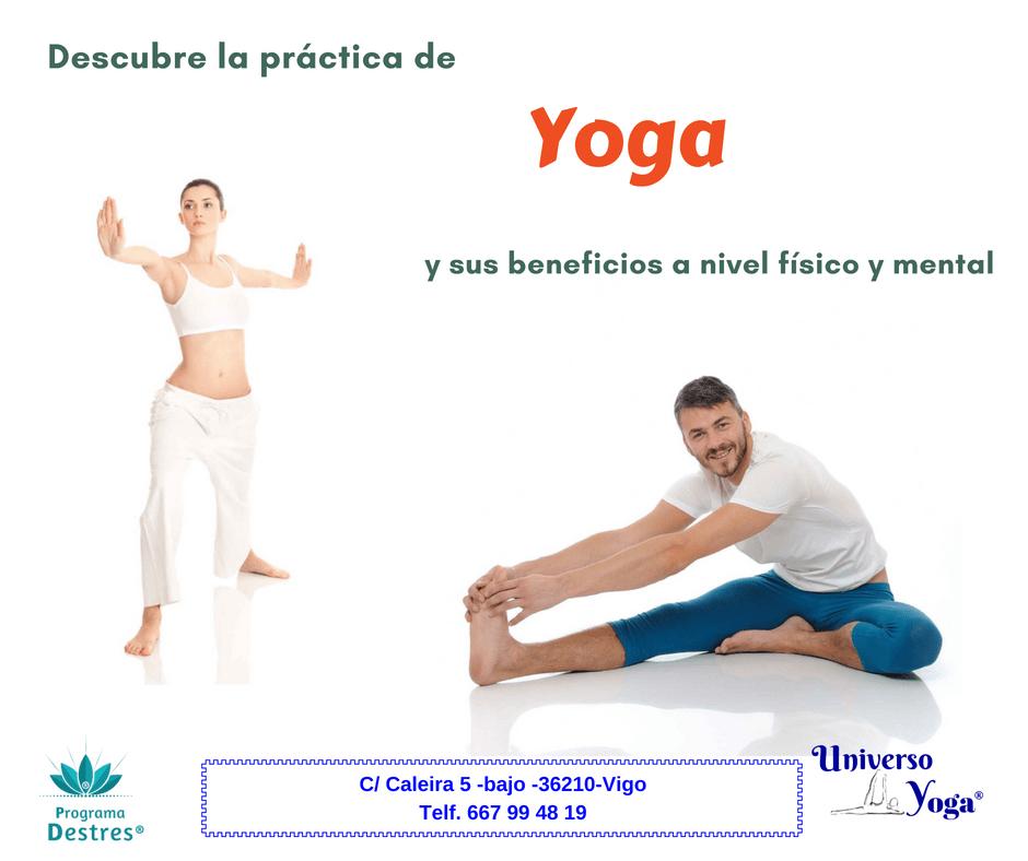 Yoga, la ciencia de unión de Mente,  Cuerpo y Emociones