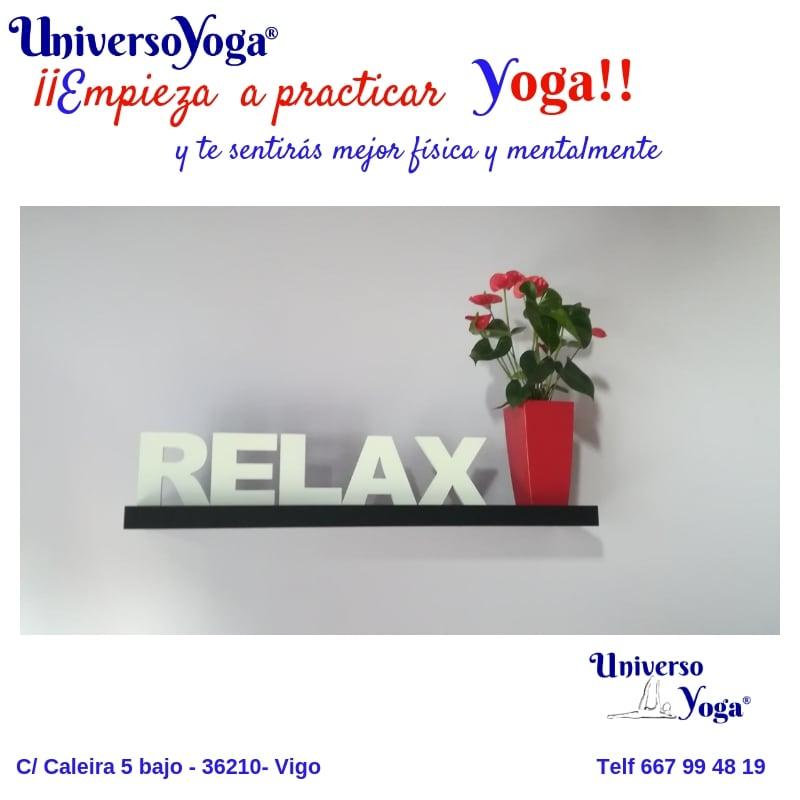 empieza a practicar yoga y disfruta de calma y relax