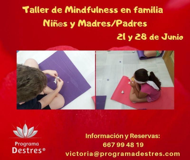 Taller mindfulness en familia