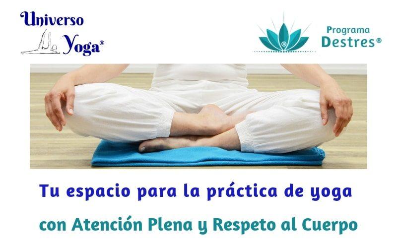 tu espacio para la práctica de yoga con respeto al cuerpo