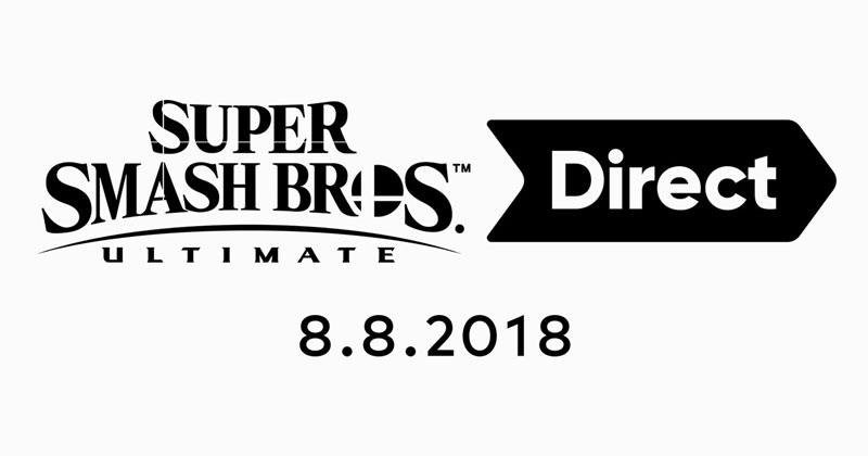 Sigue el Super Smash Bros. Ultimate Direct desde aquí