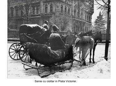 Iarnă în Bucureștiul interbelic 4