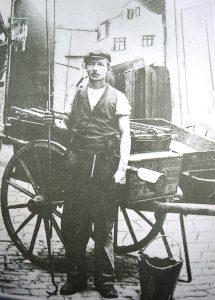 Original Aufnahme eines Schlambeisers