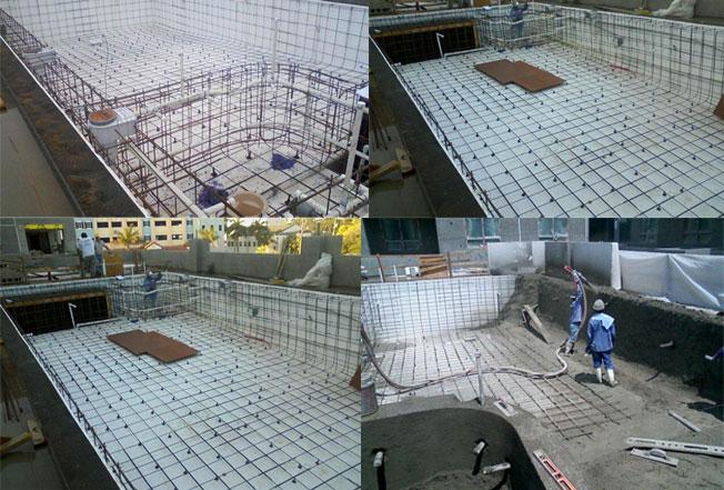 Swimming Pool Construction Product : Eps geofoam for swimming pool universal foam products