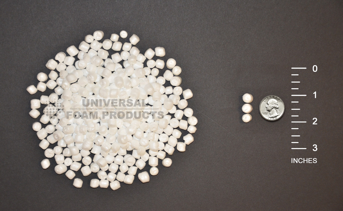 Polystyrene or Styrofoam Beads  Universal Foam Products