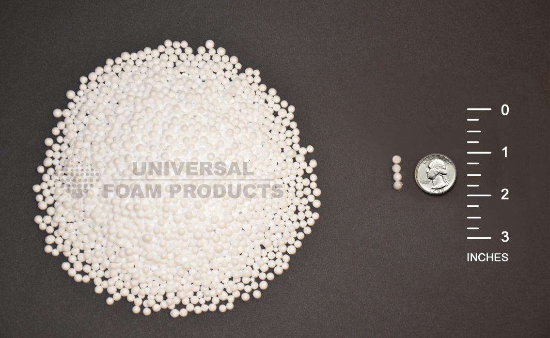 Polystyrene or Styrofoam Beads  Universal Foam Products