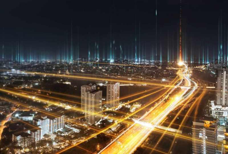 blog image - city by night + highway lights