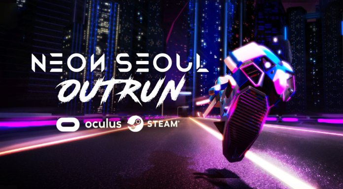 Neon Seoul Outrun VR